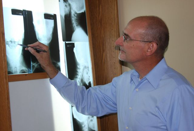 X-Ray, Spine, Dr. Broeg, Chiropractor