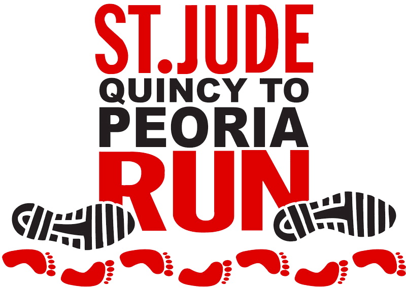 St jude run, peoria IL, quincy