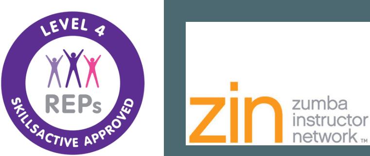 REPs and ZIN logos