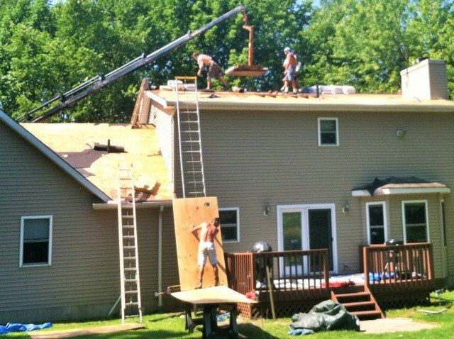 Roof Installation and more here in Northeast Ohio