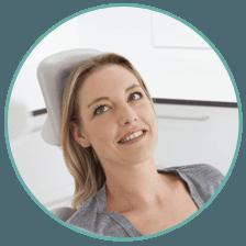 Dental session for teeth whitening
