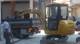 scavo, lavori di movimento terra, macchine movimento terra