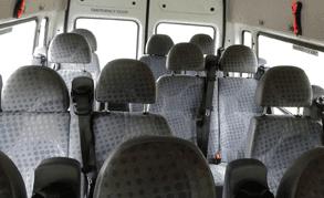 Minibus interiors