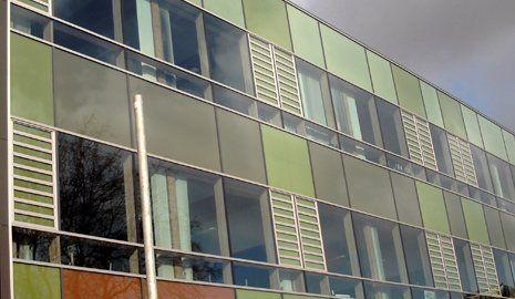 curtain wall glazing repairs