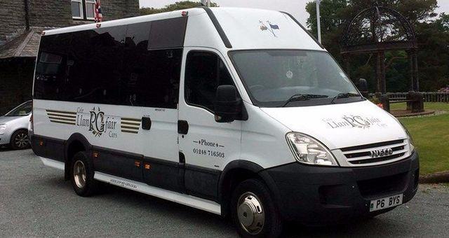 8-seater minibus
