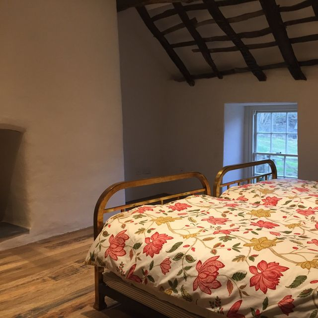 An example of  our work - a bedroom in a barn conversion