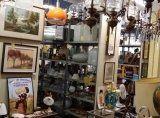 oggettistica, ceramiche, lampade