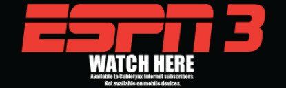 Watch ESPN 3 with high speed internet service from Cablelynx