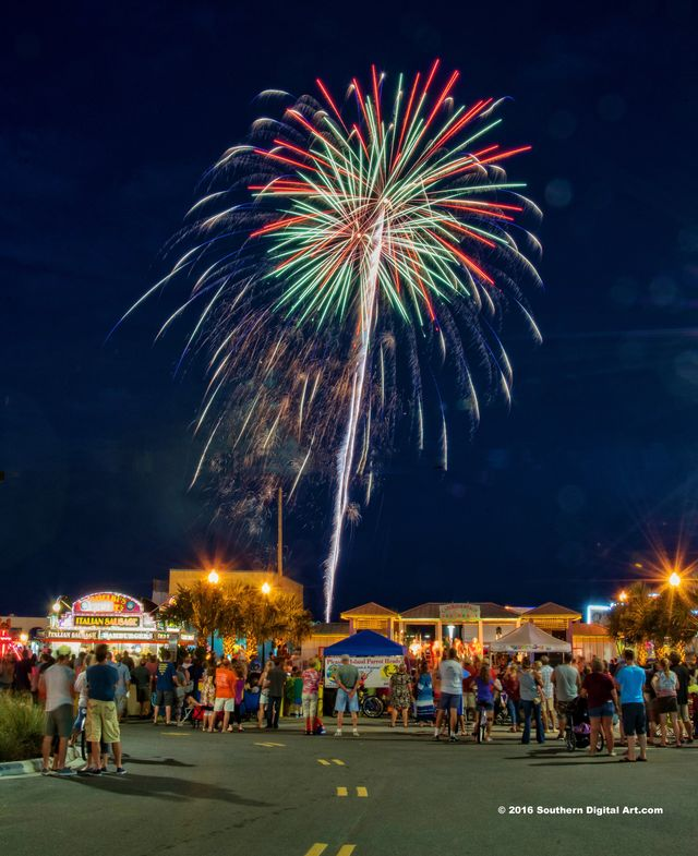 Carolina Beach Fireworks