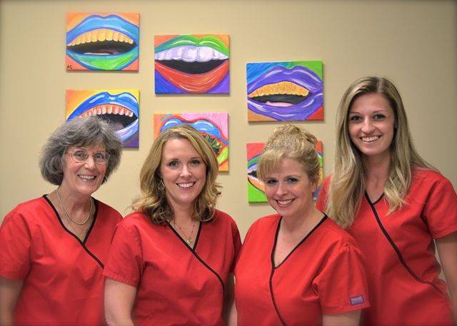 Member of the dental center team in High Point, NC