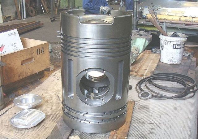 A heat exchanger in our workshop