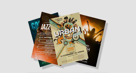 digital printing flyers