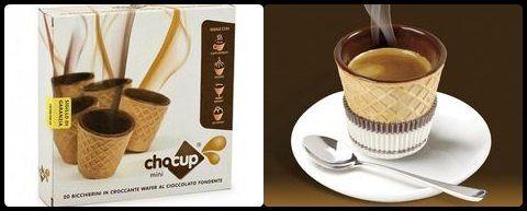 tazzine wafer cioccolato fondente
