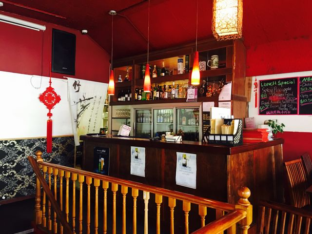 Interior of Chinese restaurant in Wellington