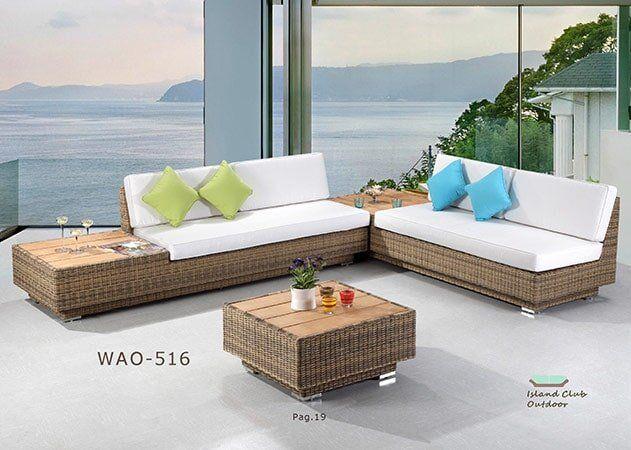 Brown and White Sofa Set - Florida Dining Room Furniture in Naples, FL - Patio Furniture-Naples, FL -Naples Furniture Liquidators