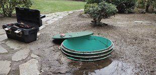 Raw sewage pump stations