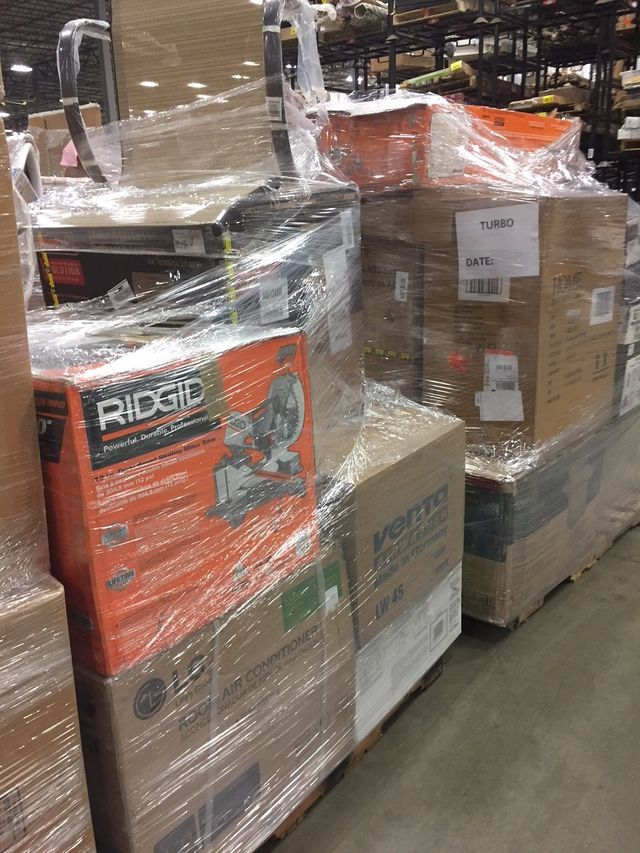 Home depot tools pallets, Tools and hardware surplus sale, Wholesale