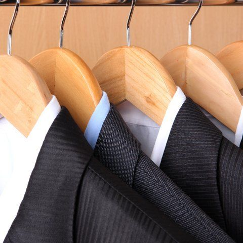 suits on hanger