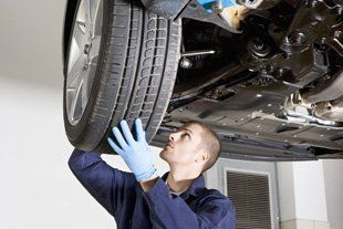 Car Servicing - Exeter, Devon - Tyred & Exhausted - Tyre repair