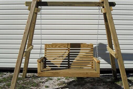 Swinging Bench Without Roof   Patio Furniture In Brandon, FL