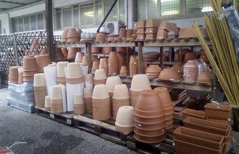 vasi piante aromatiche