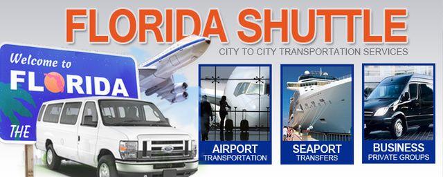 $20 Miami to Orlando bus shuttle transportation MIA MCO door