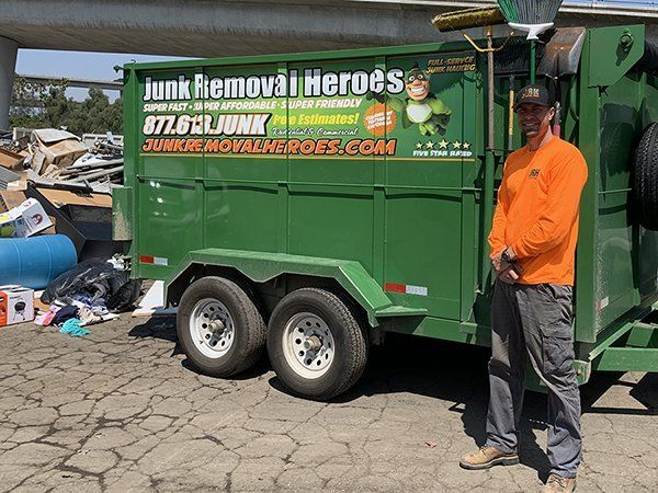 Junk Removal in Norco CA ~ #1 Trash Hauling Service