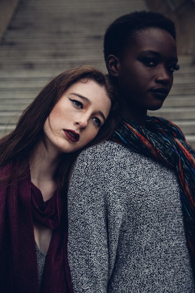 A Black woman and a white woman receiving mindfulness