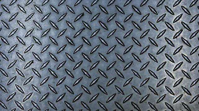 Verrassend Een metalen bordes maken? Tranenplaat | Snijden van tranenplaat UX-35