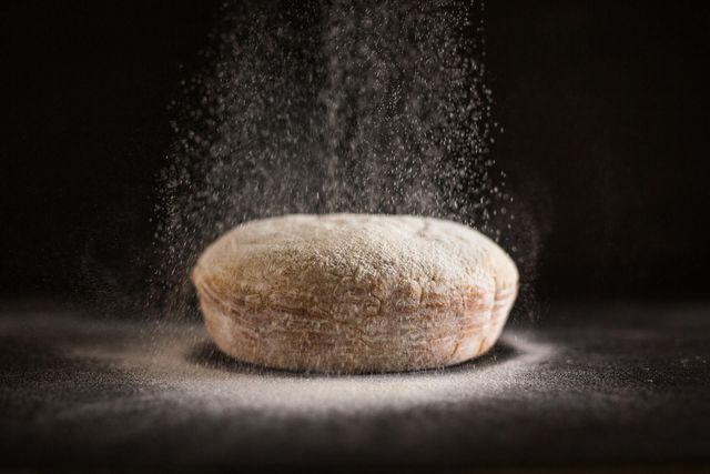 pagnotta di pane in lievitazione