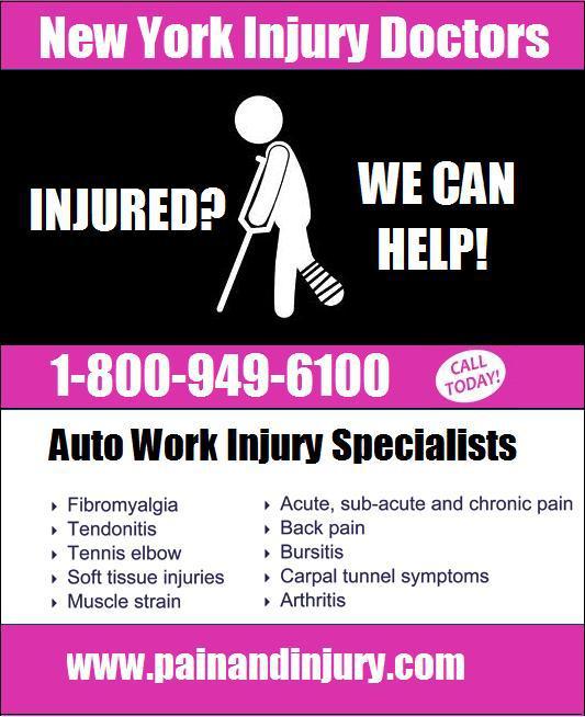 Auto Injury Doctor New York Car Accident Doctor NY NJ