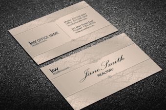 Quality Keller Williams Business Card Templates From Realty Cards