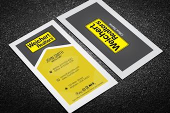 Weichert realtors business card templates free shipping full weichert realtors business cards colourmoves