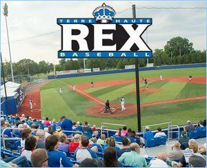 graphic relating to Have a Ball This Summer Printable named REX Baseball Terre Haute Rex Indiana summer months baseball