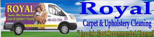 Copyright -Royal Carpet & Upholstery Cleaning ;402-423-7200 ; 5401 S. 20th St. Cir. Lincoln Ne 68512