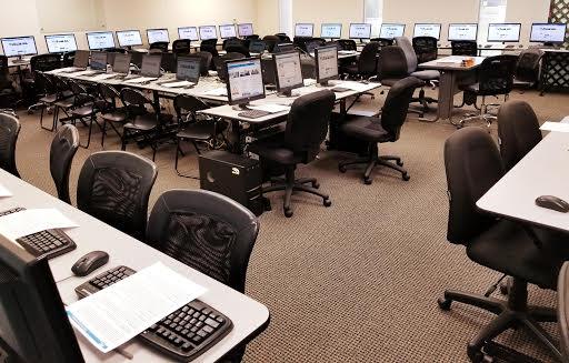 Break area at Training Umbrella, company meeting room rentals