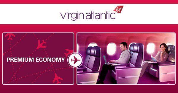 Virgin Atlantic Premium Economy Class - Travel Center UK