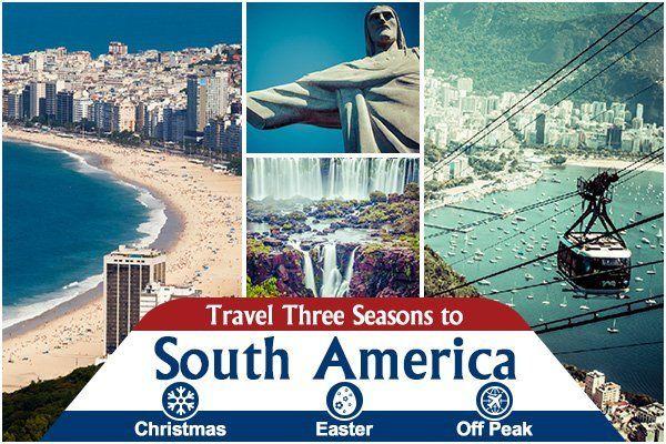 Seasonal fares to south america travel center uk freerunsca Images